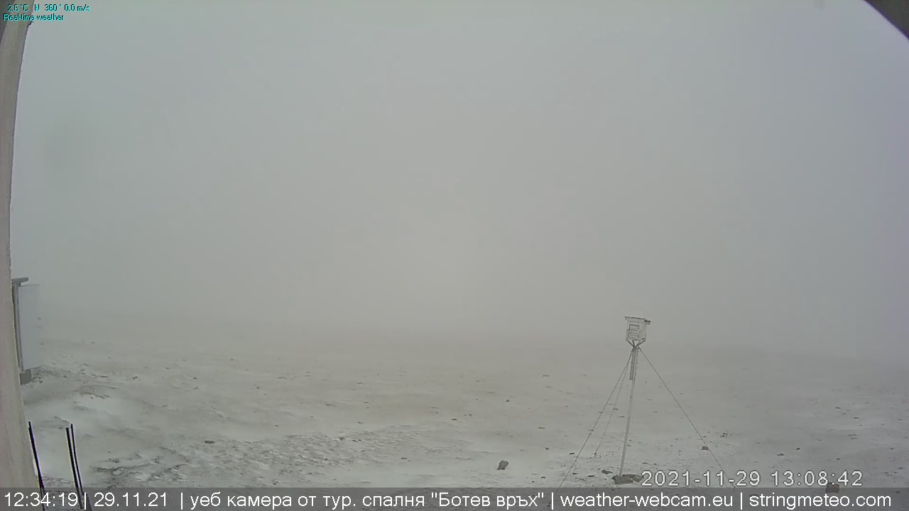 камера на живо от връх Ботев